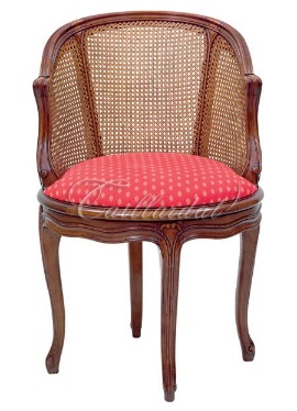 The Lauzan is an example of a Louis XV style armchair
